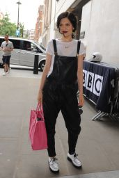 Jessie J - BBC Radio 1 Studios in London - July 2014