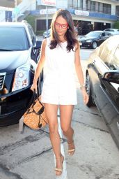 Jordana Brewster Leggy at Craig