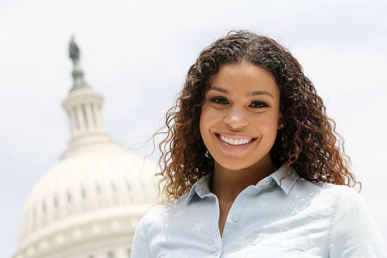 Jordin Sparks - A Capitol Fourth Independence Day Concert Rehearsals - July 2014