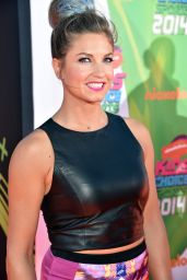 Julia Mancuso – 2014 Nickelodeon Kids Choice Sports Awards in Los Angeles