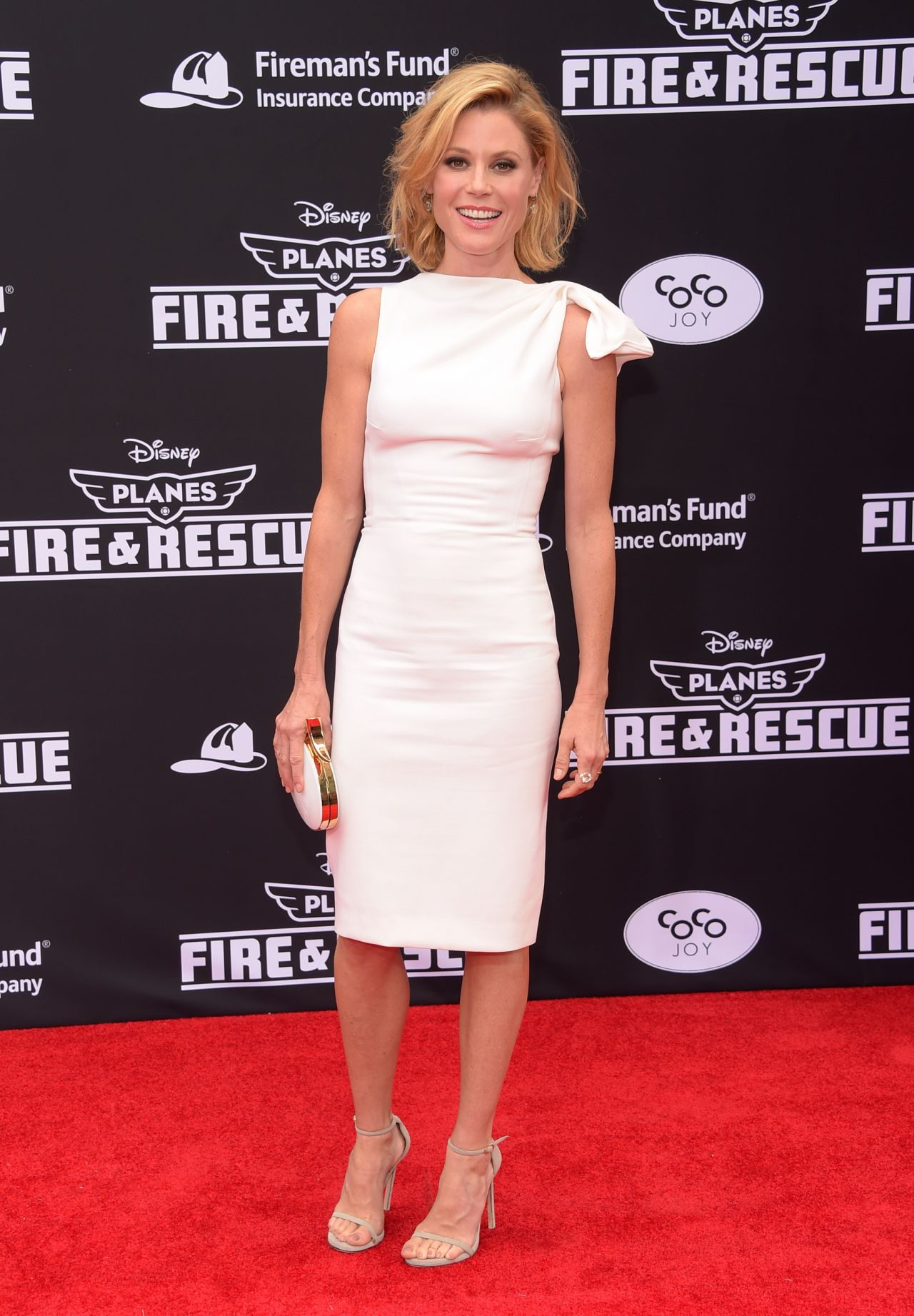 Julie Bowen Planes Fire Amp Rescue Premiere In Hollywood