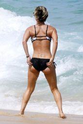 Kaley Cuoco Bikini Candids - Beach in Cabo - July 2014
