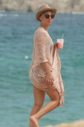 Kaley Cuoco on the Beach in Cabo - July 2014