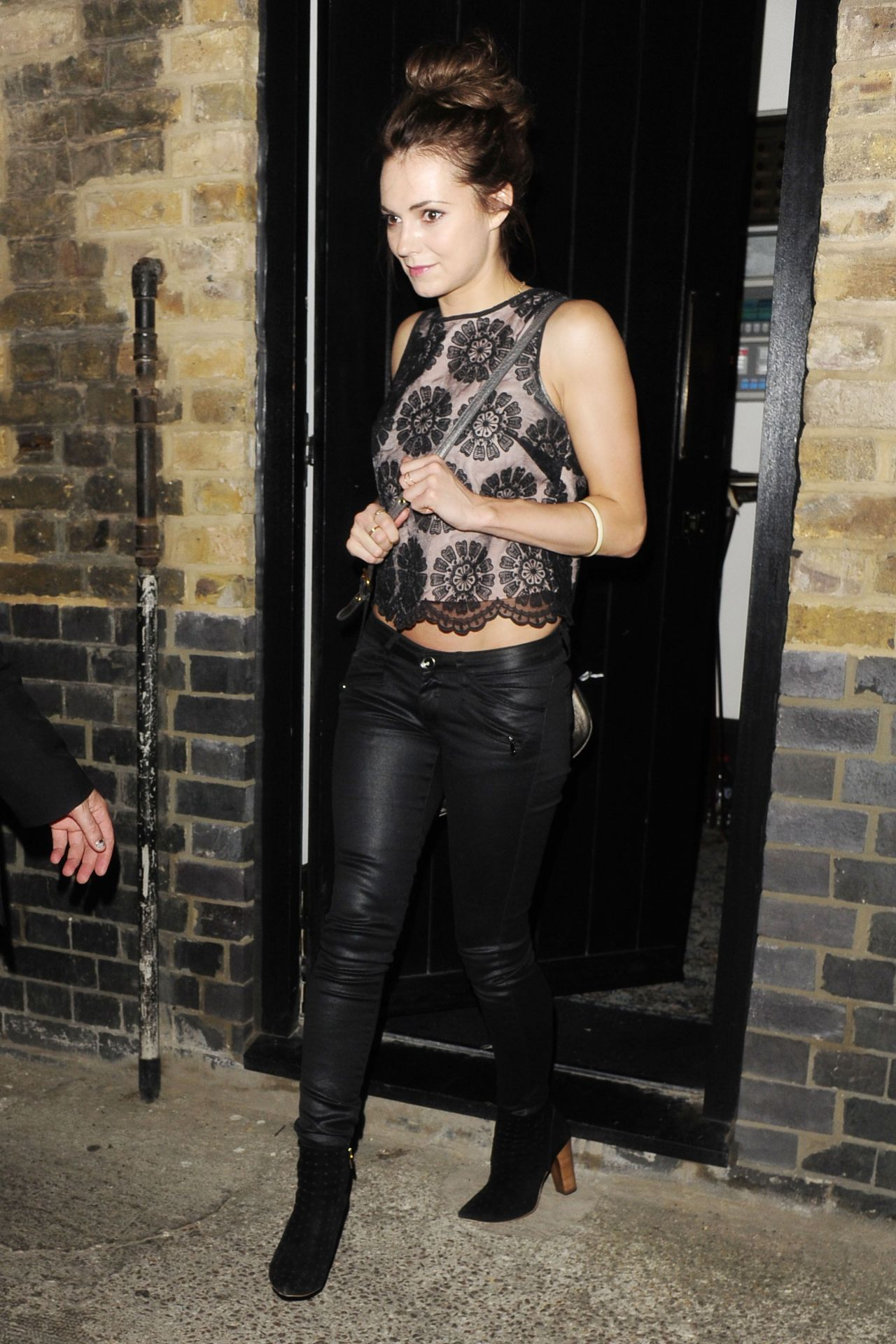 Kara Tointon Night Out Style - at the Chiltern Firehouse in London - July 2014