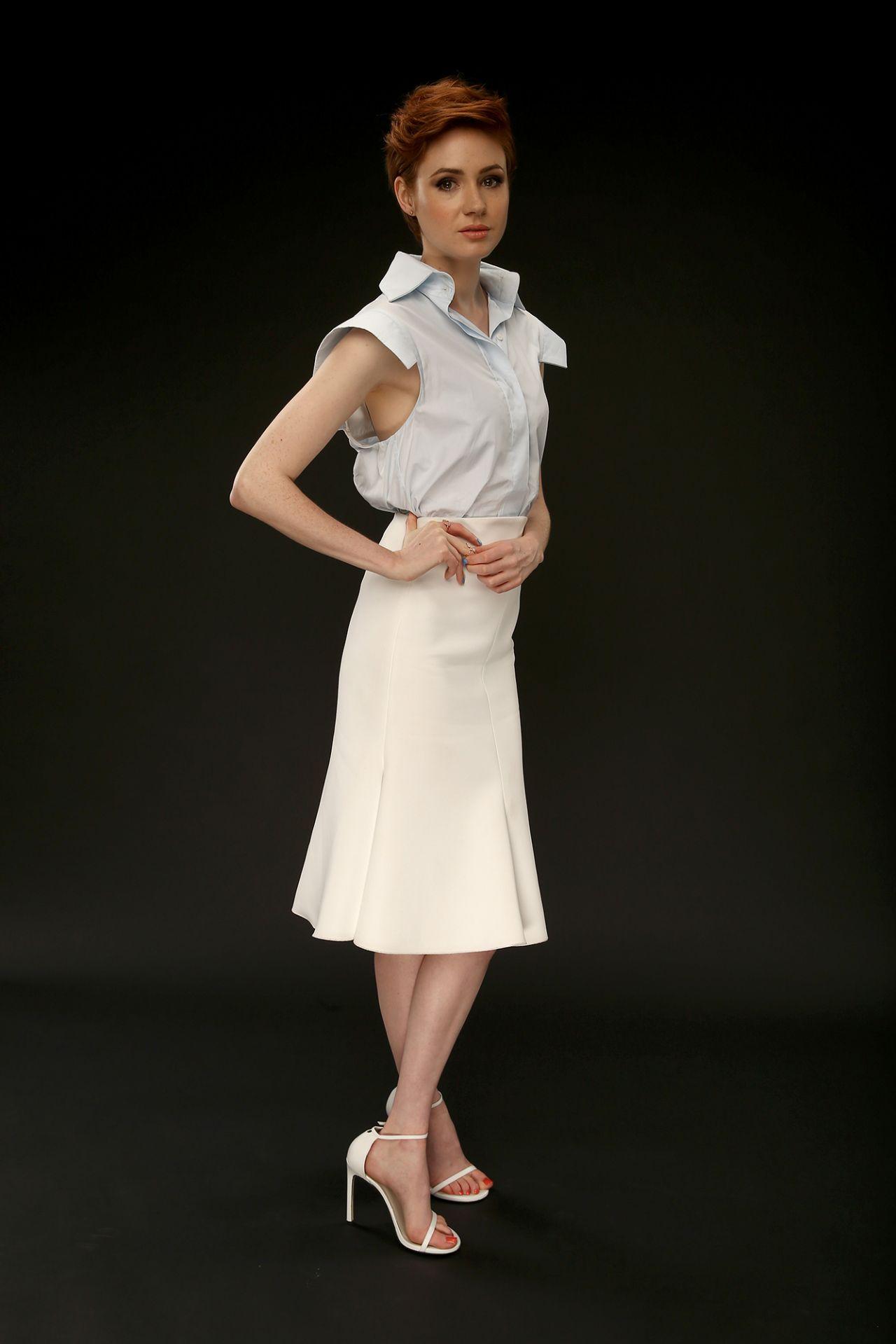 Karen Gillan Photoshoot for ABC Summer TCA 2014