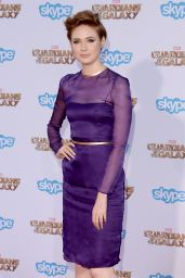 Karen Gillan – 'The Guardians of the Galaxy' World Premiere in Los Angeles
