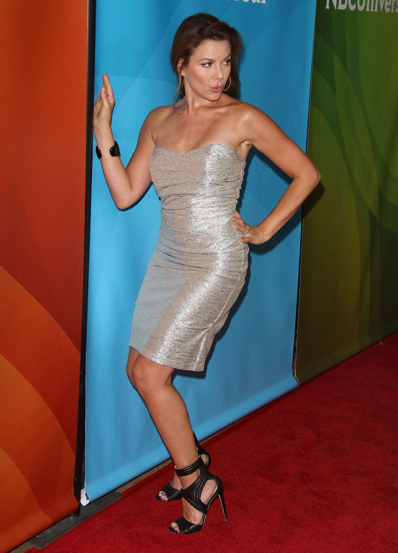 Kari Wuhrer Nbcuniversal 2014 Summer Tca Tour In Beverly