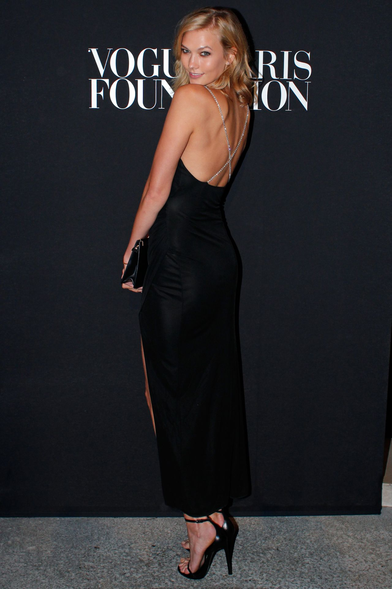 Karlie Kloss - Vogue Foundation Gala – Paris Fashion Week – July 2014