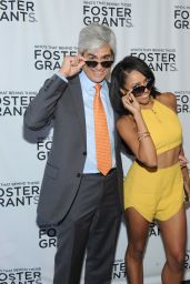 Kat Graham at Foster Grant