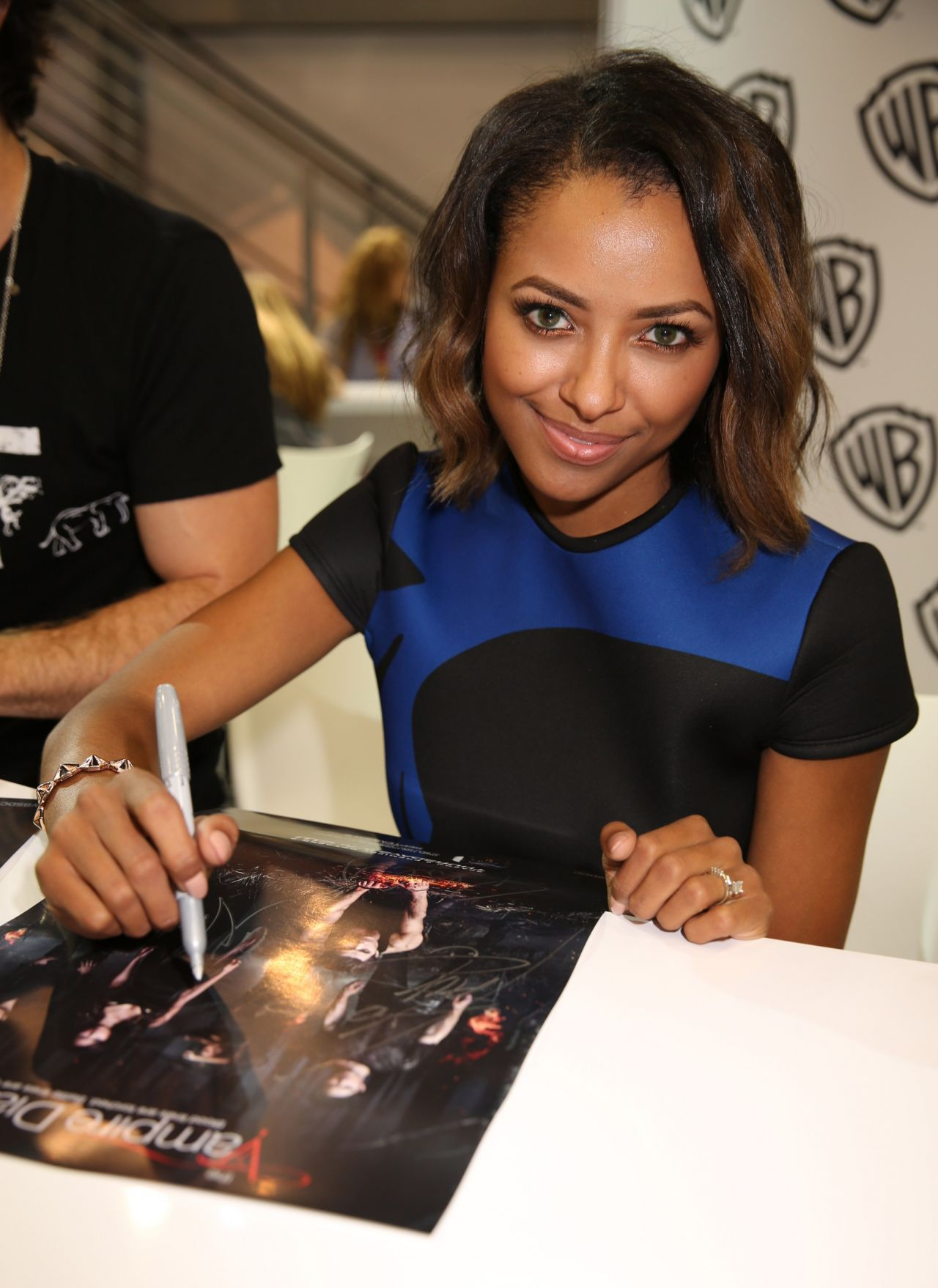 Kat Graham – Warner Bros. at Comic-Con 2014 in San Diego