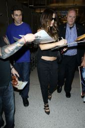 Kate Beckinsale Spotted at at LAX Airport in Los Angeles, July 2014