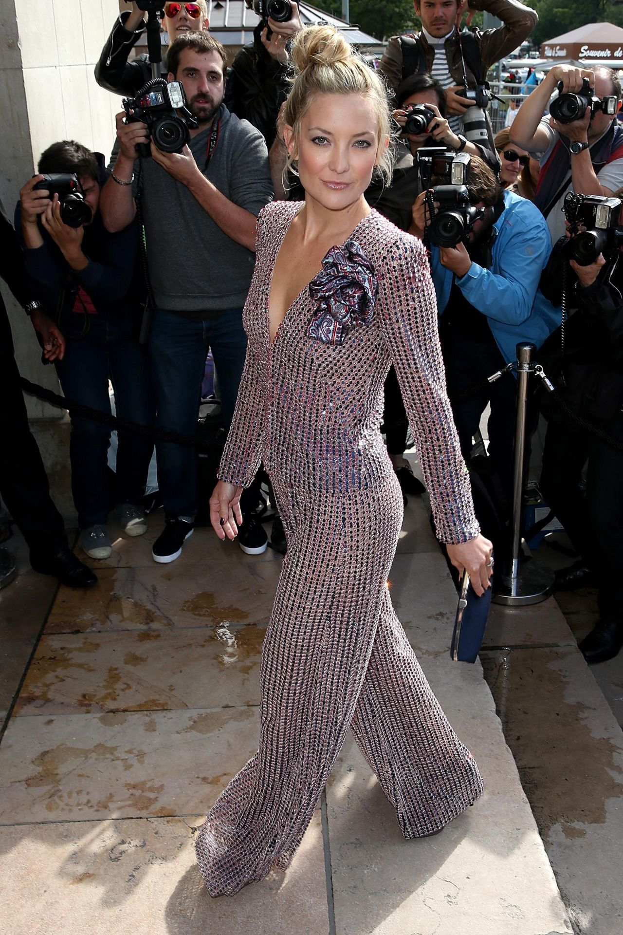 Kate Hudson Giorgio Armani Prive Fashion Show During