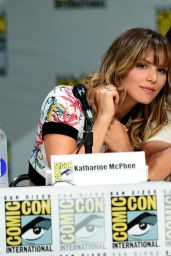Katharine McPhee - CBS Scorpion Panel at Comic-Con in San Diego - July 2014