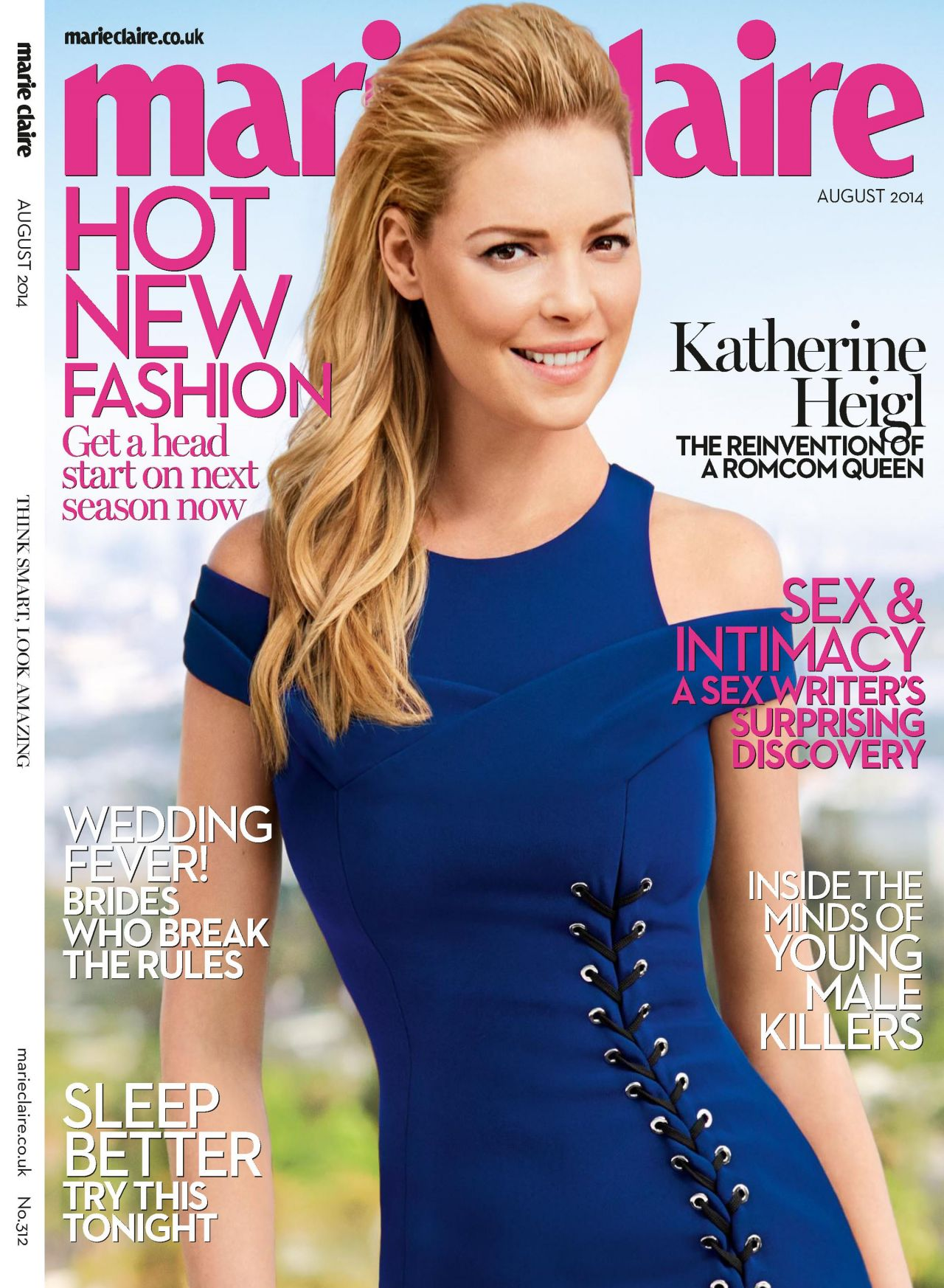 Katherine Heigl - Marie Claire Magazine (UK) - August 2014 Cover