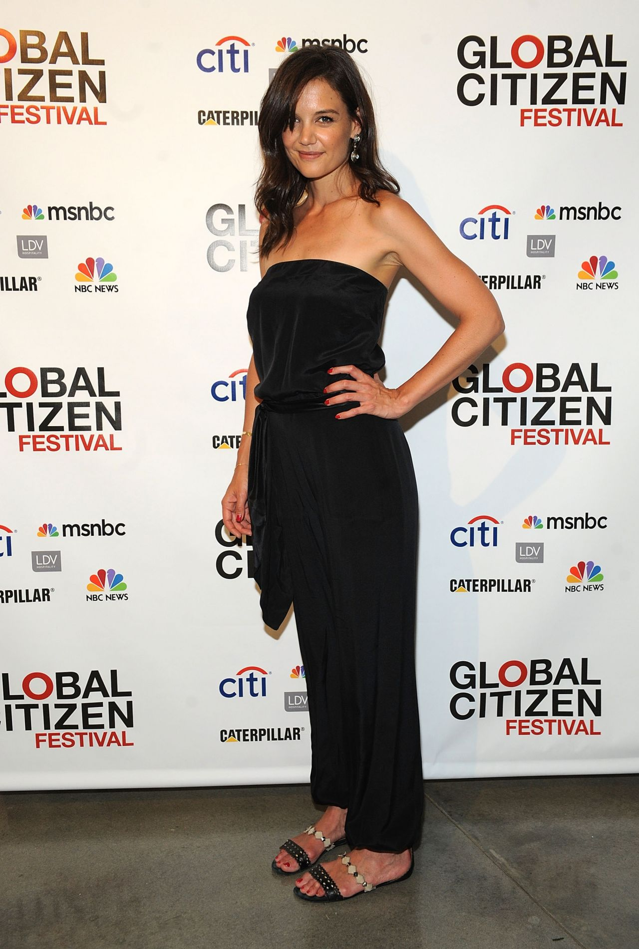 Katie Holmes - 2014 Global Citizen Festival Launch Party in NYC