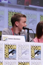 Kaya Scodelario - 20th Century Fox Comic-Con 2014 Panel
