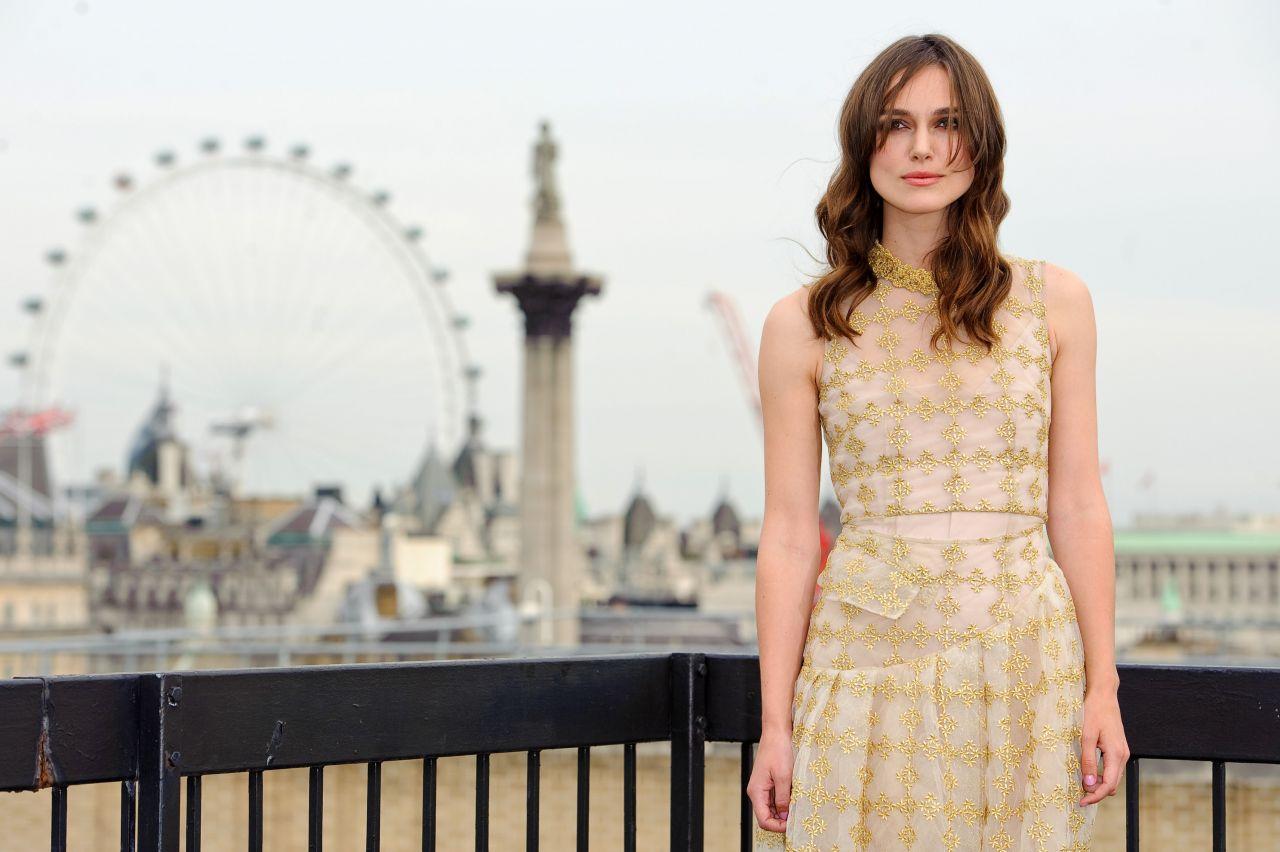 Keira Knightley - Begin Again Movie Photocall A Londra-6651