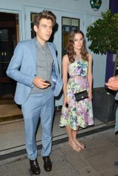 Keira Knightley - Leaving Quo Vadis Restaurant in London - July 2014