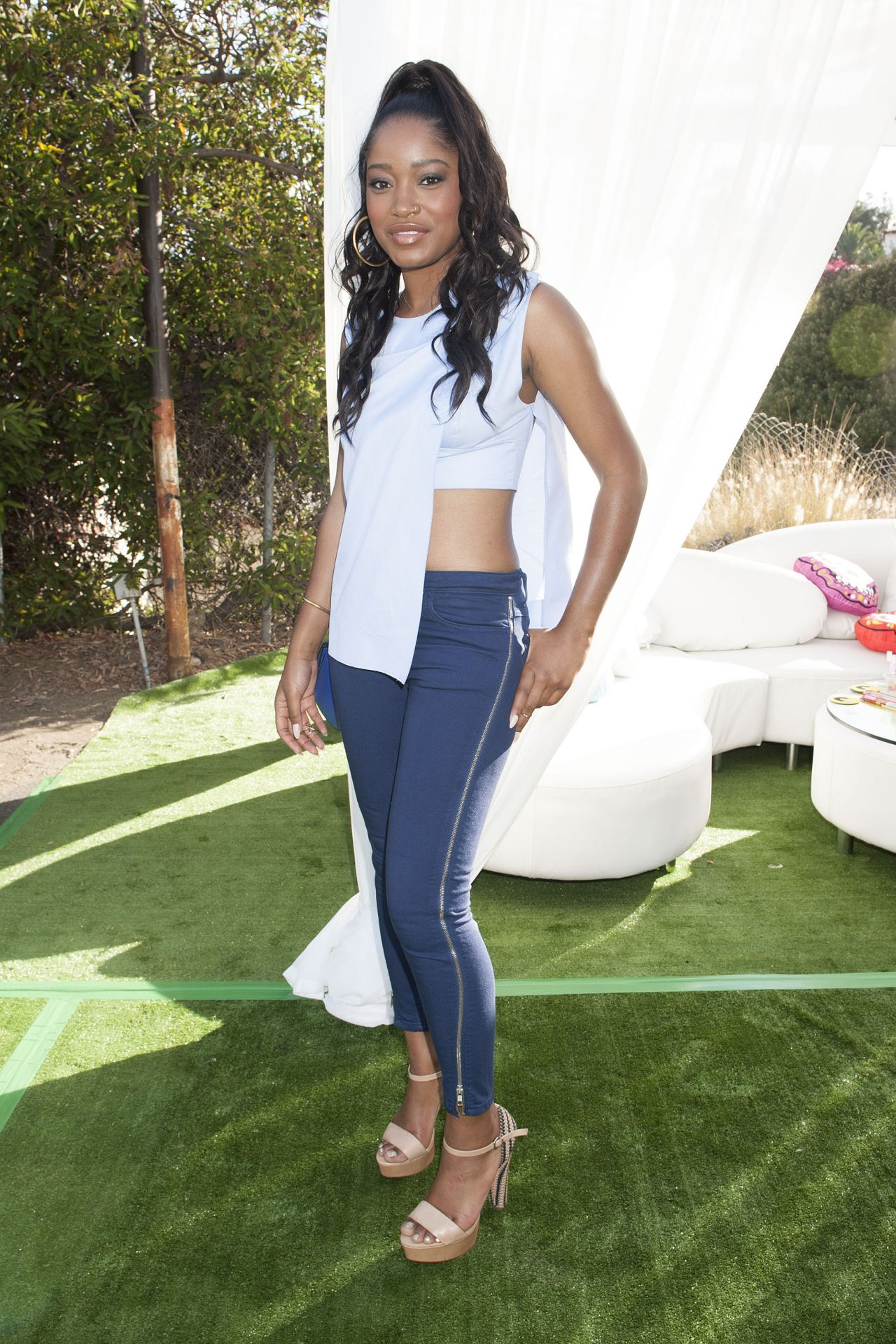Keke Palmer - 2014 Just Jared Summer Fiesta in West Hollywood