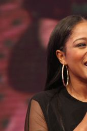 Keke Palmer - BET 106 & Park Live in New york City - July 2014