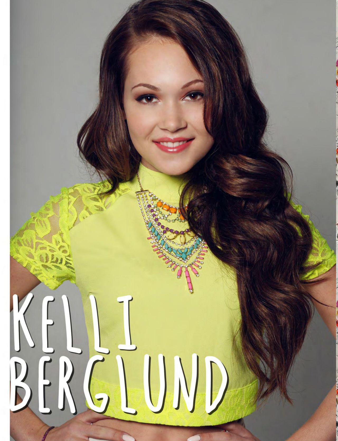 Kelli Berglund - Afterglow Magazine July 2014 Issue