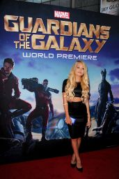 Kelli Berglund – 'The Guardians of the Galaxy' World Premiere in Los Angeles