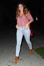 Kelly Brook night Out Style - Los Angeles, July 2014