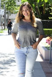 Kelly Brook Street Style - Out in Beverly Hills - July 2014