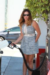 Kelly Brook With Boyfriend Running Errands in Los Angeles - July 2014