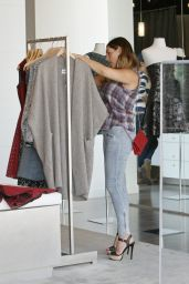 Kelly Brook With Her Boyfriend - Shopping in LA - July 2014