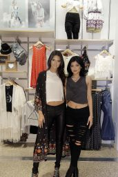 Kendall Jenner & Kylie Jenner - PacSun Collection Launch in Dallas - July 2014