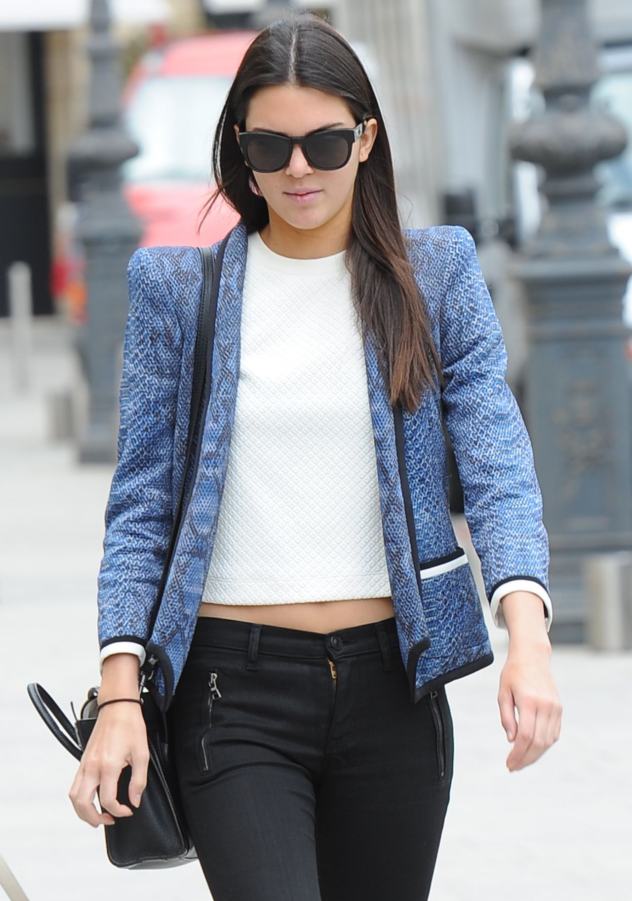 Kendall Jenner Shopping in Paris - July 2014