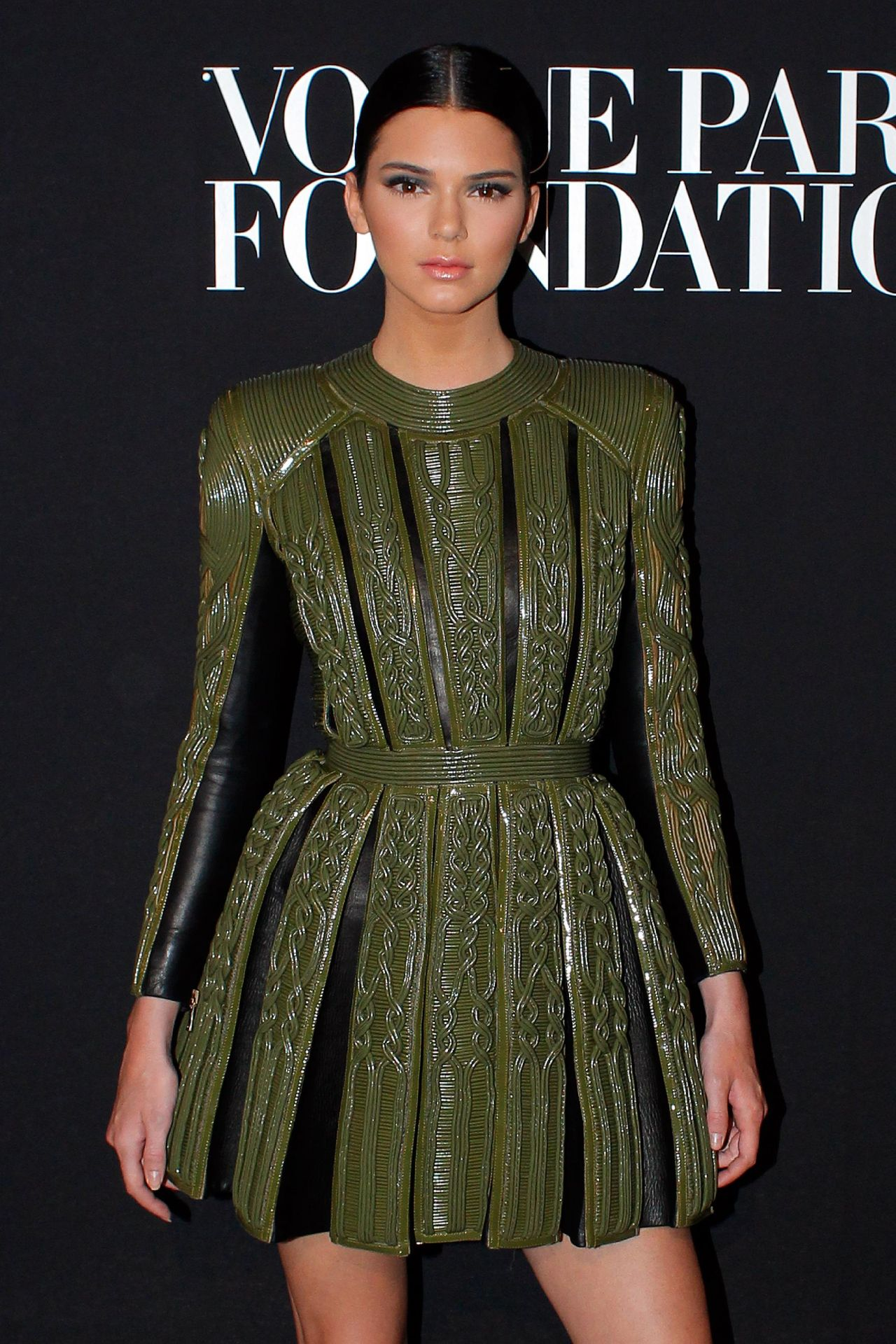 Kendall Jenner Vogue Foundation Gala Paris Fashion Week July 2014