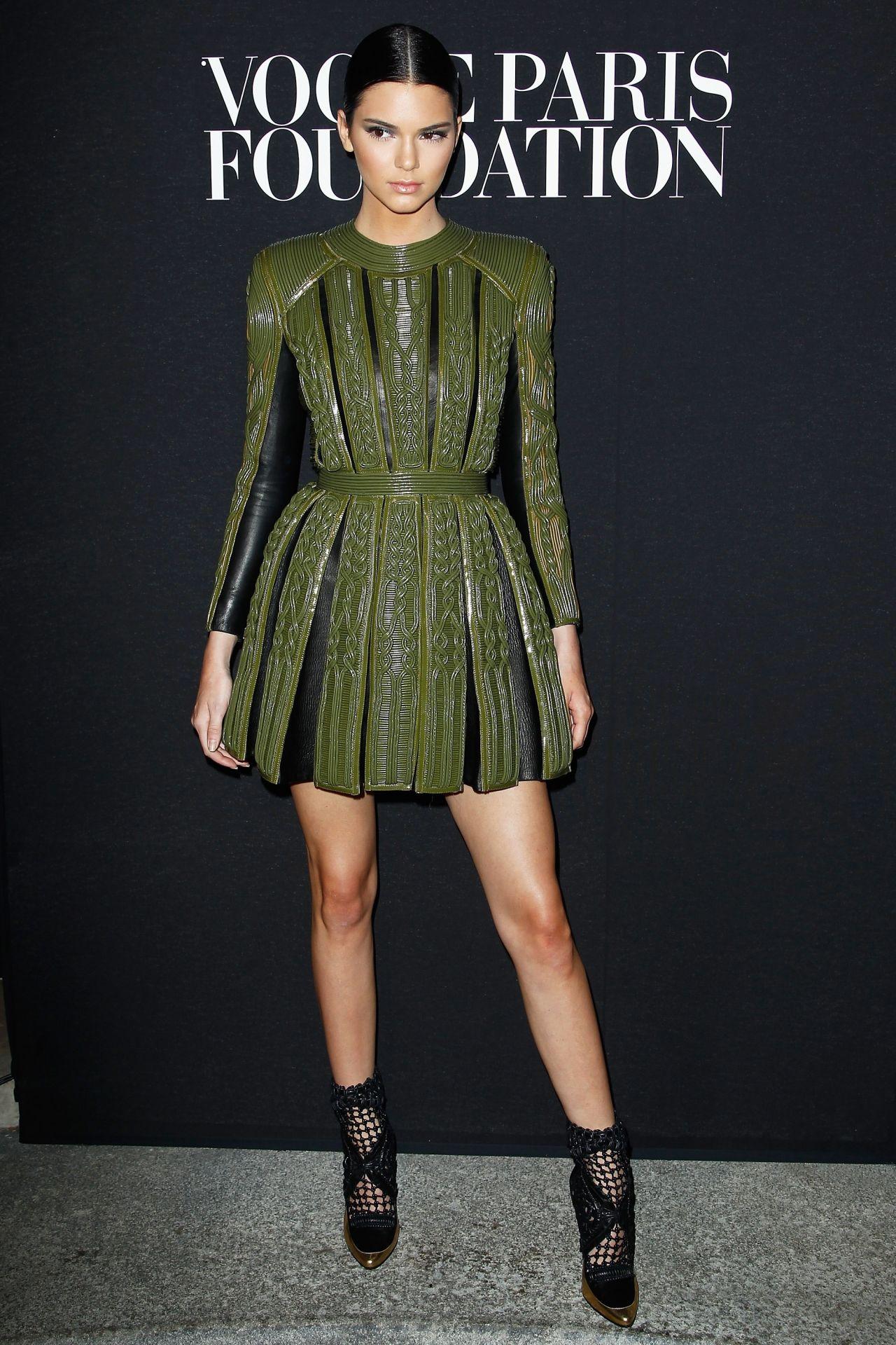 Kendall Jenner Vogue Foundation Gala Paris Fashion