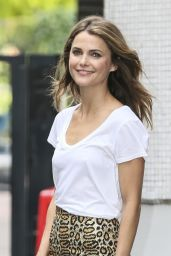 Keri Russell Casual Style - at ITV Studios in London - July 2014