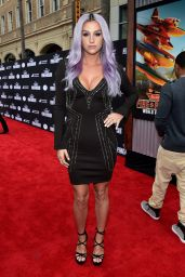 Kesha – 'Planes: Fire & Rescue' Premiere in Hollywood