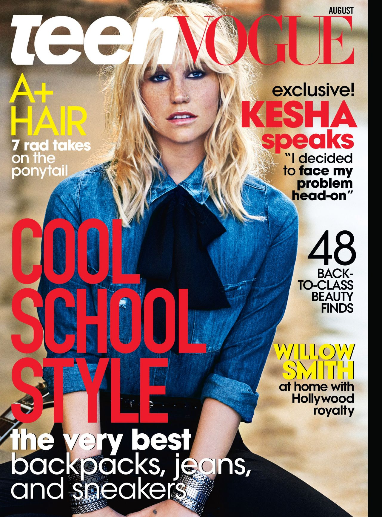 Kesha - Teen Vogue Magazine - August 2014