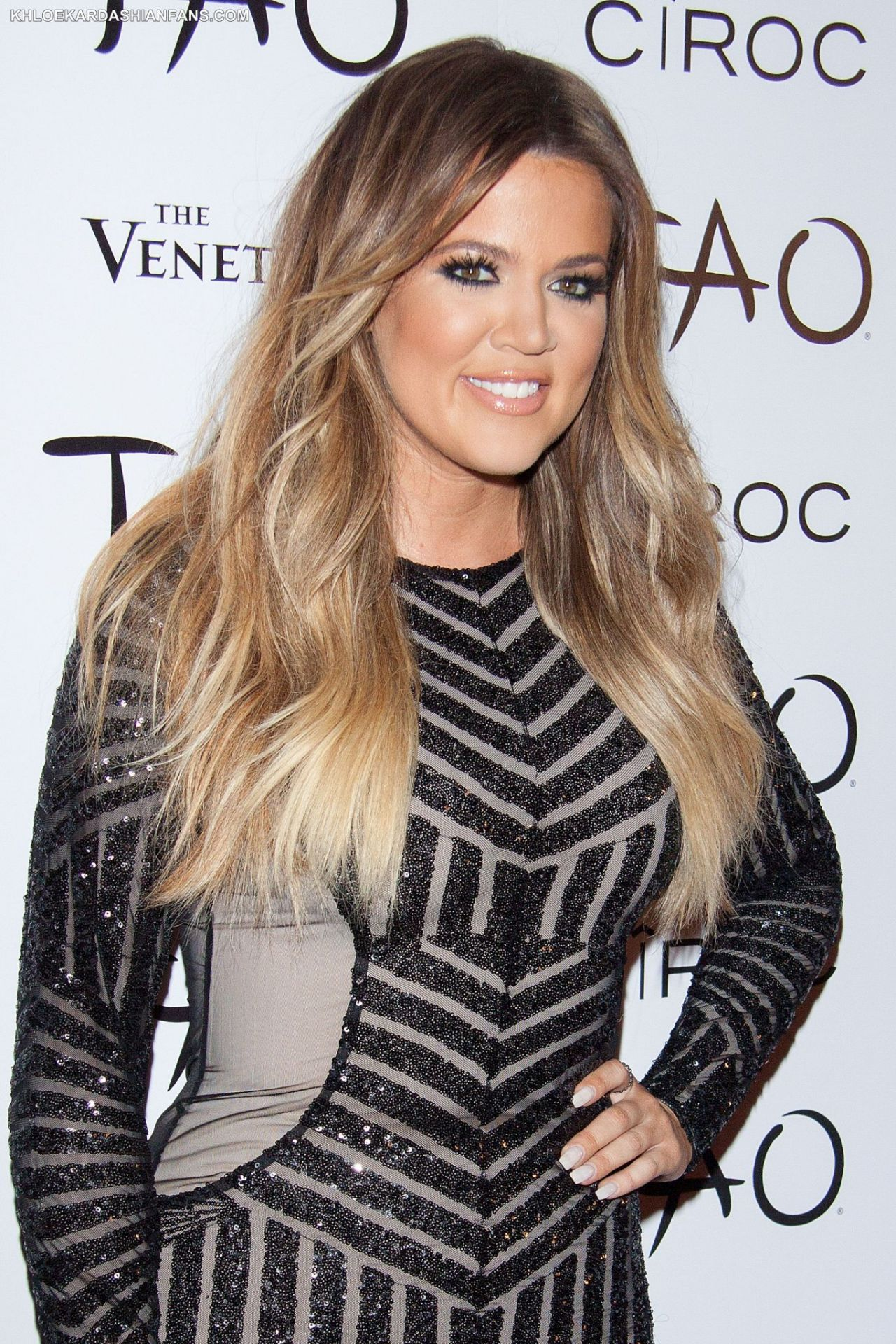 Khloe Kardashian 30th Birthday Party At Tao Nightclub In