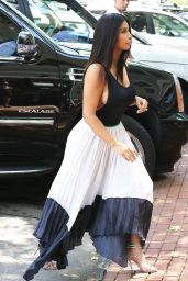 Kim Kardashian go to Lunch in South Hampton NY - June 2014