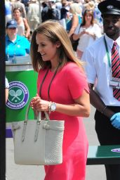 Kim Sears – Wimbledon Championships 2014 – July 2nd