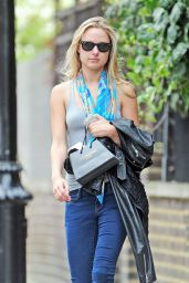 Kimberley Garner Booty in Jeans - Out in London - June 2014