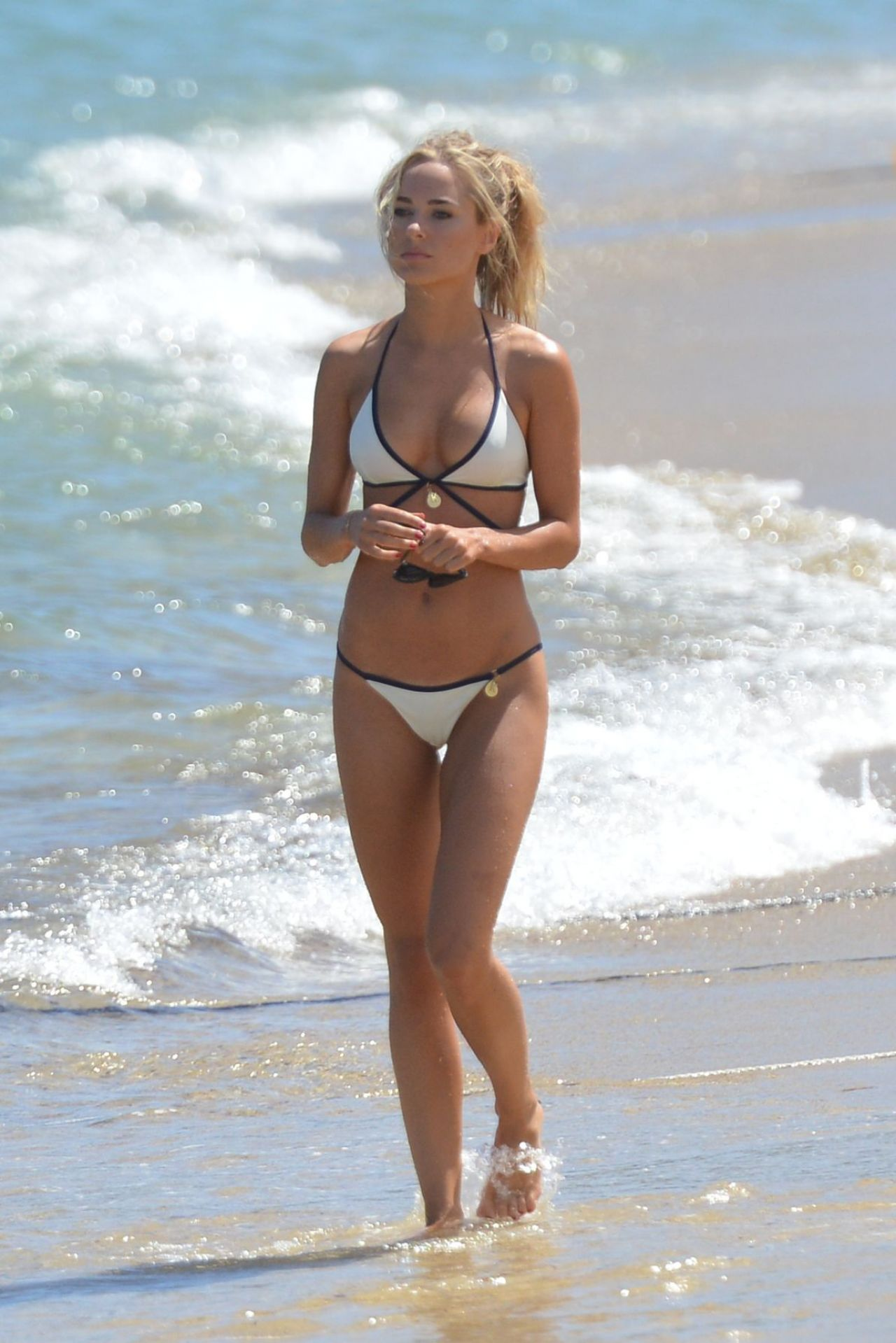 Kimberley Garner Hot Bikini Candids In Saint Tropez July
