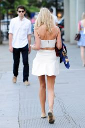 Kimberley Garner Hot in Mini Dress - Out in London, July 2014