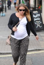 Kimberley Walsh - Out In London - July 2014