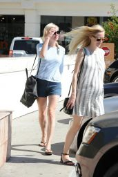 Kirsten Dunst in Shorts - Out in LA, July 2014