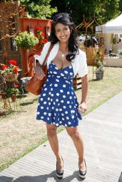 Konnie Huq at Hampton Court in London - July 2014