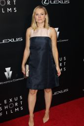 Kristen Bell on Red Carpet - Lexus Short Films Premiere in LA