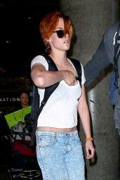 Kristen Stewart at LAX Airport - July 2014
