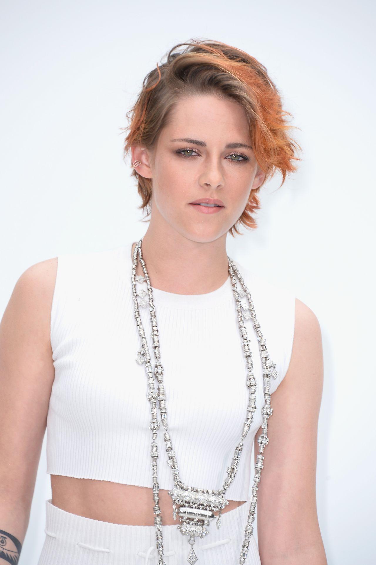 Kristen Stewart Chanel Fashion Show During Paris Fashion