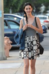 Krysten Ritter Street Style - Out and About in Los Angeles - July 2014